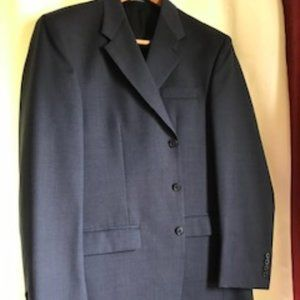 MEN'S SEAN JOHN BLUE SUIT SZ 42L